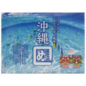 沖縄めんべい ラフテー風味&シークヮーサー入り(2枚×12袋)