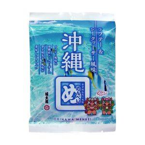 沖縄めんべい (ラフテー&シークヮーサー風味) (2枚×2袋)